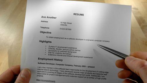 Do good video resume