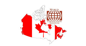 First Canadian to receive the highest certification award from World Certification Institute (WCI)